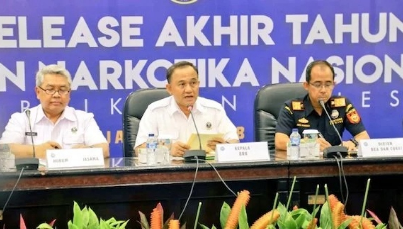 Selama 2018, BNN Ungkap 914 Kasus Narkotika