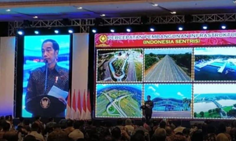 Jokowi Banyak Infrastruktur Selesai Akhir 2018 dan 2019