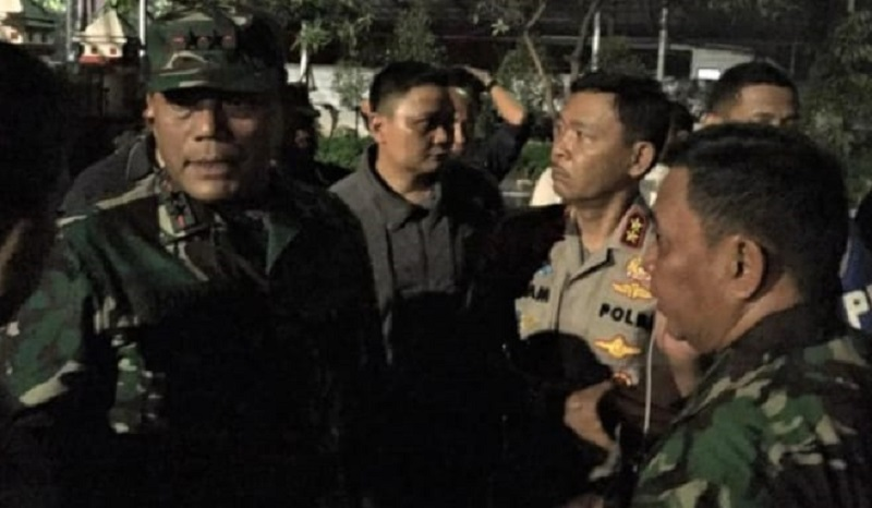 Kapolda Metro Perintahkan Tahanan Polsek Ciracas Dievakuasi