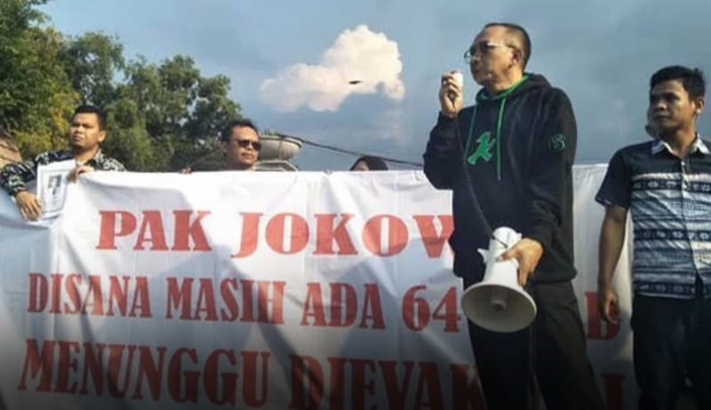 Keluarga Korban PK-LQP Tagih Janji Lion Air di Depan Istana