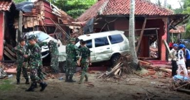 Korban Tsunami Terus Bertambah, Kini Mencapai 222 Orang Meninggal
