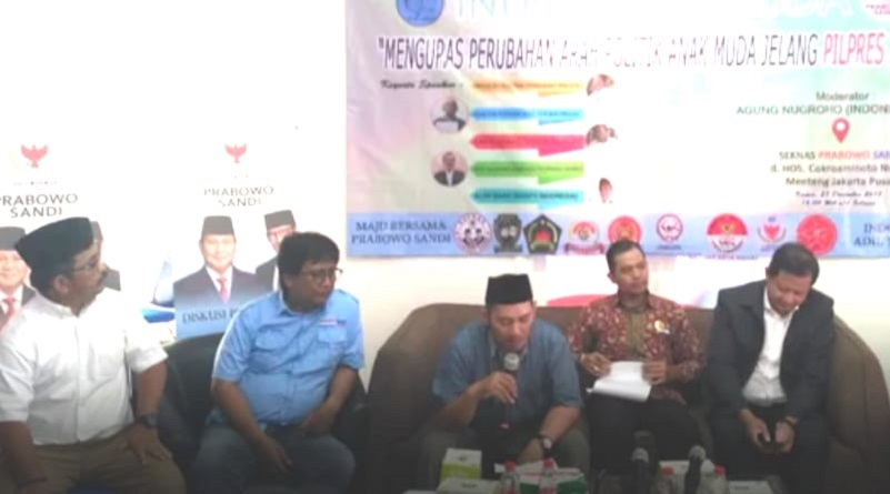 Mantan Relawan Jokowi Gelar Diskusi 'Arah Politik Anak Muda'