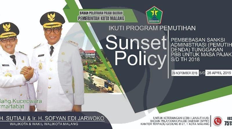 Mendapat Apresiasi, Sunset Policy BP2D Jadi Percontohan Nasional