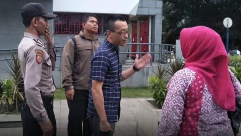 Pihak Kedubes RRT Baru Keluar setelah Massa Aksi Bela Muslim Uighur Bubar