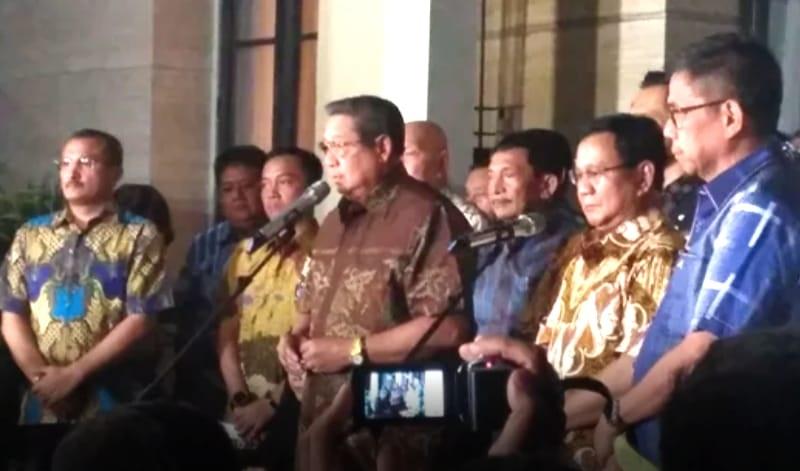 SBY Ingin Prabowo Menang dan Demokrat Sukses