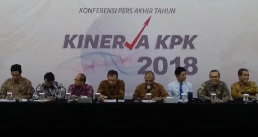 Sepanjang 2018 KPK Tangani 152 Kasus Suap, Kebanyakan Melibatkan Anggota Legislatif