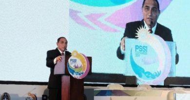 Eddy Rahmayadi Resmi Mundur dari Ketua Umum PSSI
