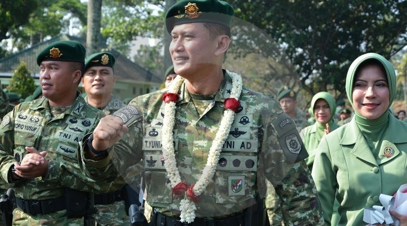 Pangdivif 2 Kostrad Pimpin Tradisi Penerimaan Brigjen TNI Tri Yuniarto