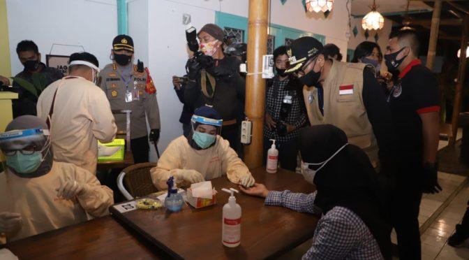Opsgab Pemkot Malang, Satu Reaktif Langsung Dikirim ke Rumah Isolasi
